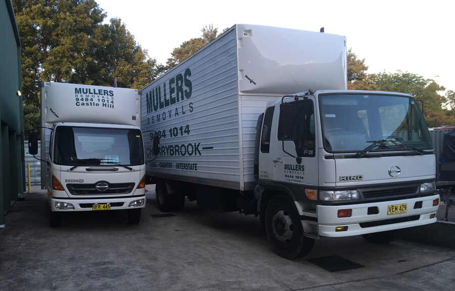 mullers removals trucks